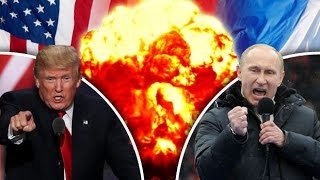 ⚠US 'threatens WAR with Russia' as Trump to park warships near North Korea