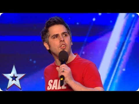 It is ALL about the one-liners for funnyman Chris! | Auditions | BGMT 2018