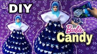 Diy|| barbie candy || tutorial flanel ...
