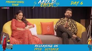 Aate Di Chidi Promotions , Neeru Bajwa , Amrit Maan | Punjabi Film 2018