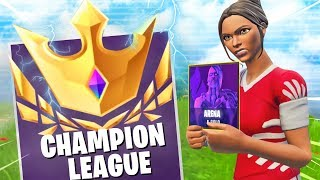I play fortnite ARENA champions for the first time and that happened.