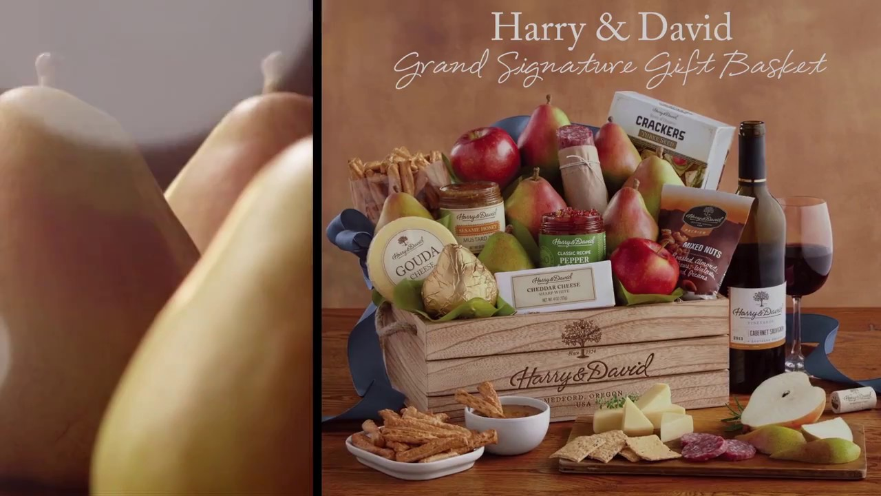 Grand Signature Gift Basket by Harry &