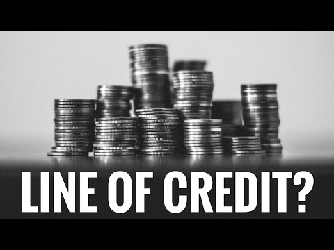 What is a Line of Credit? (And why credit cards are better)