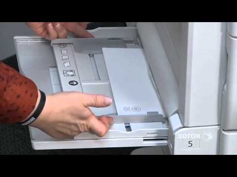 Bypass Tray - Inserting Envelops & Labels