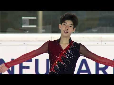 Young Hyun CHA KOR Men Short Program EGNA-NEUMARKT 2017
