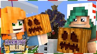 DECORATING SPAWN WITH MY WIFE! - Minecraft: Harmony Hollow SMP - S4 Ep.27