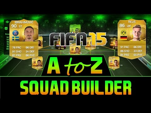 A-Z of FIFA 15 UT - Scotland Squad Builder