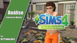 Análise - The Sims 4 - Dia de Lavar as Roupas - Coleção de Objetos
