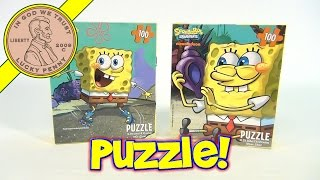 SpongeBob SquarePants 100 Piece Jigsaw Puzzle Lot