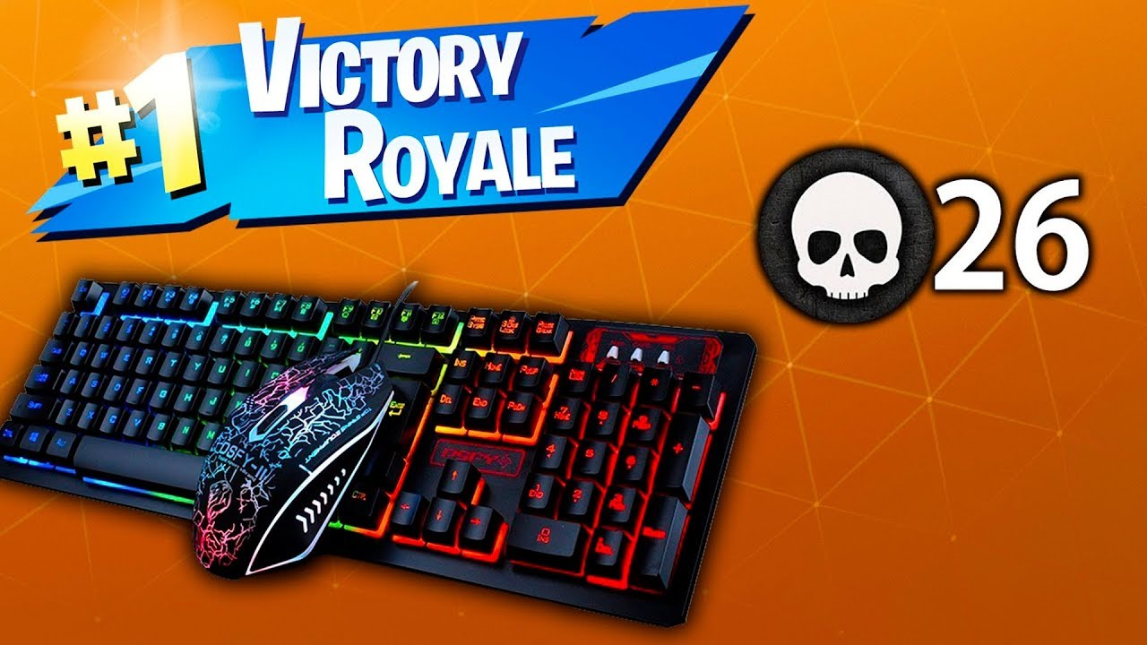 how to play fortnite on mouse and keyboard on