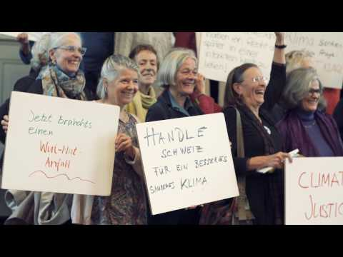 Seniors Group Makes Legal Complaint Against Swiss Government's Climate Policies