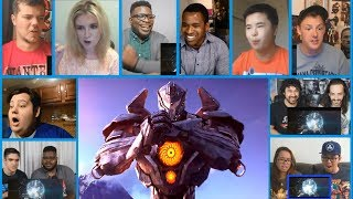 Pacific Rim- Uprising Comic-Con Teaser (2018) - 'Join the Jaeger Uprising' Reactions Mashup