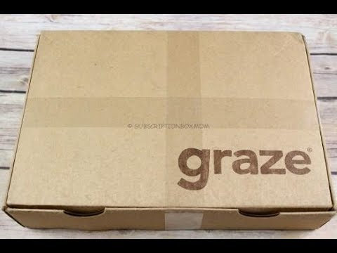 Graze January 2018 Unboxing + First Month Free