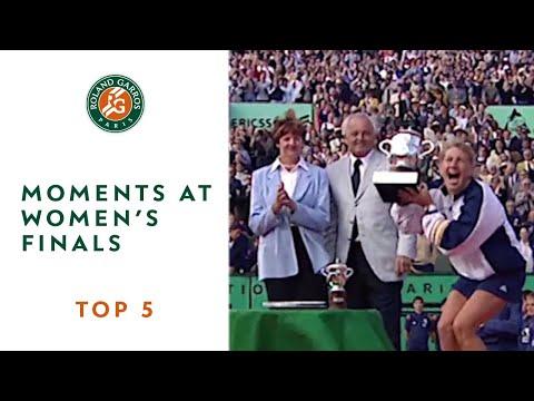 Top 5 moments at Womens' Finals - Roland-Garros