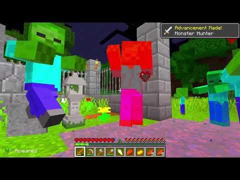Vengo Adottato Da Una Famiglia Di FANTASMI Su Minecraft!