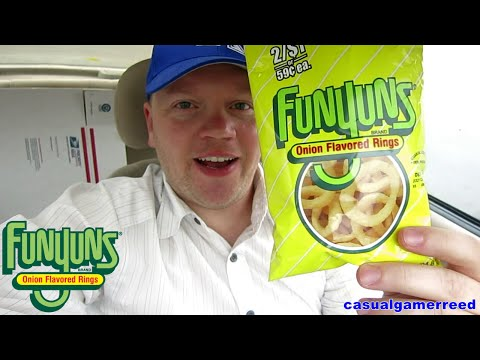 Reed Reviews FUNYUNS Onion Flavored Rings