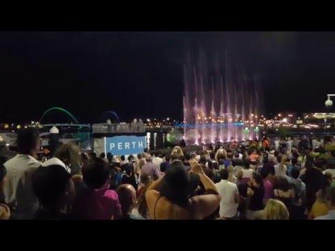 Perth - Elizabeth Quay Opening Night