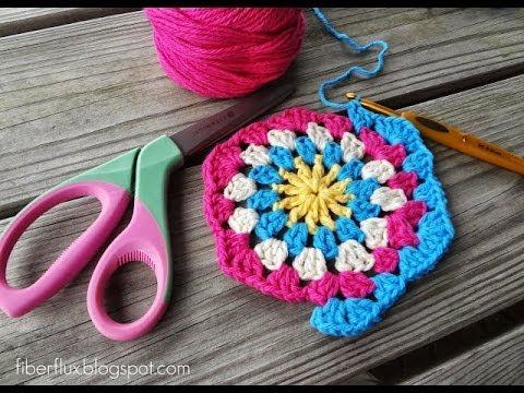Episode 82: How to Crochet a Granny Hexagon