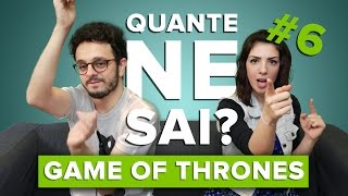 #QuanteNeSai #6 - Tiko e Violetta si sfidano su GAME OF THRONES!