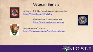 Finding Information on Your US 20th Century Veteran Family Members