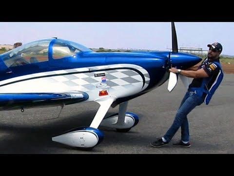 Rv-7 Aerobatic Airplane -  Aerobatics Flight -  Aircraft Aerobatics