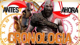 LA CRONOLOGIA DE GOD OF WAR