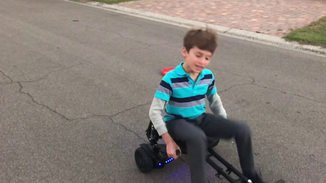 Jetson Hoverboard Go Cart Combo