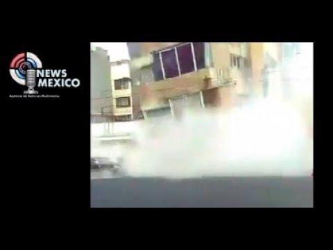 Así vieron habitantes de Ciudad de México la caída de edificios