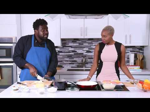 Chef it Up - Coconut Crusted Salmon - Chef Horatio Smith