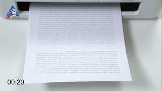 Epson L800: тест на скорость печати текста. Режим \