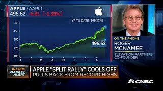 Roger McNamee weighs in on the Apple stock split