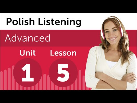 Polish Listening Practice - Preparing For a Polish Business Meeting