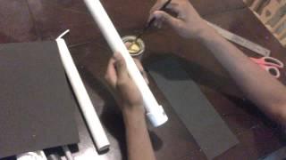 Como hacer chakos con tubos de pvc