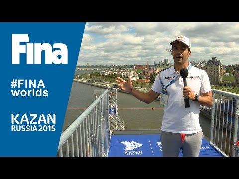 Orlando Duque Q&A in Kazan (RUS)