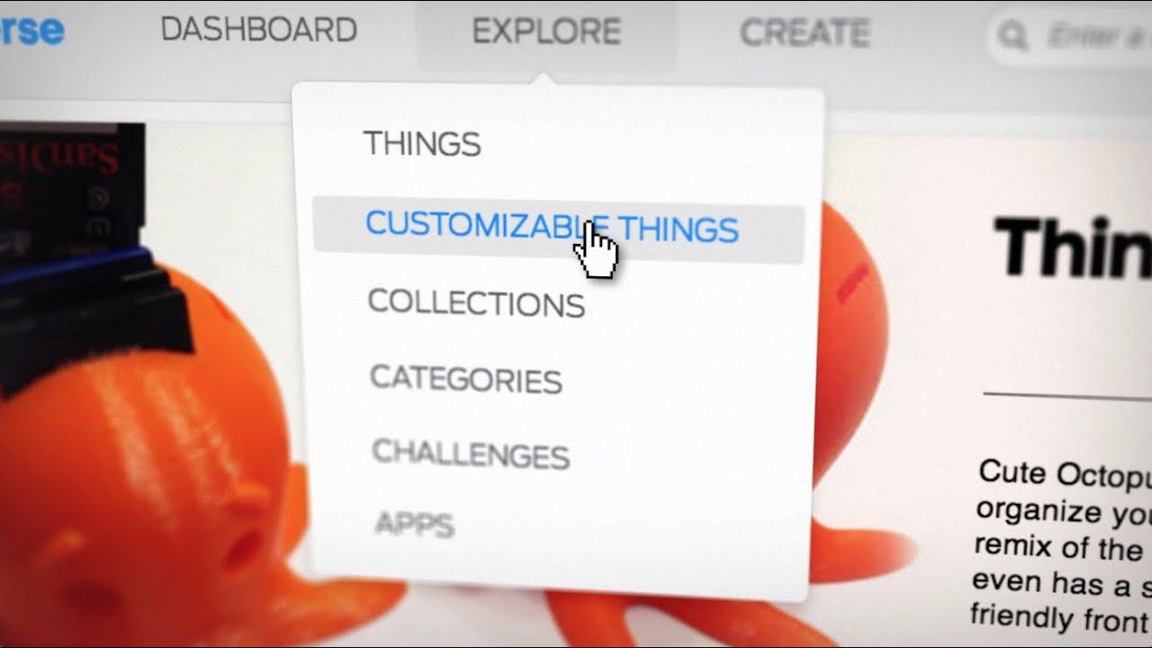 MakerBot Milestone | Thingiverse 1,000,000 Uploads