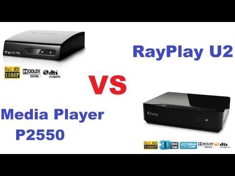 Fantec Media Player P2550 vs Fantec RayPlay U2 3D Player Testvergleich [Super HD View]