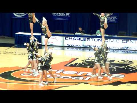 2017 ClassAA West Virginia Cheer Competition (12/9/2017)