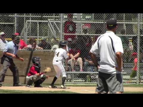 District 35 Championship: Petaluma National vs Rincon Valley LL, 7-8-17