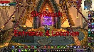 Skyreach Dungeon Entrance & Location