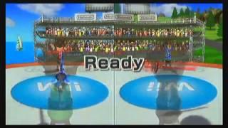 wii sports resort part 1 swordplay and table tennis acorn games