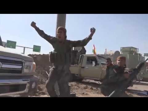 BATTLE OF NORTH KIRKUK (PRDE) PESHMERGA VS IRAQI ARMY 2017