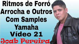 V.14 (Com Samples) Ritmos de Forró-Brega Para Teclados Yamaha (Joab Pereira)
