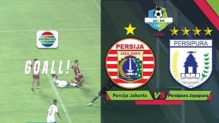 Goal Nyeruduk Marko Simic - Persija FC 1 vs 0 Persipura  Go-Jek Liga 1 Bersama Bukalapak