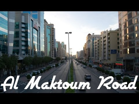 AL MAKTOUM ROAD VIDEO, DEIRA, DUBAI, UNITED ARAB EMIRATES