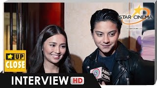 Kathryn: Nadine and I are in good terms
