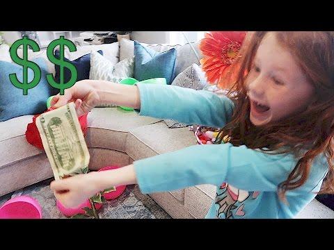 MONEY FILLED EASTER EGGS!