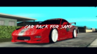 CAR PACK for SAMP / ПАК АВТОМОБИЛЕЙ для САМП