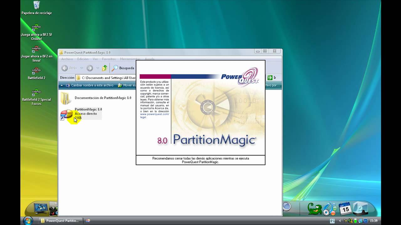 free download software partition magic 8.0