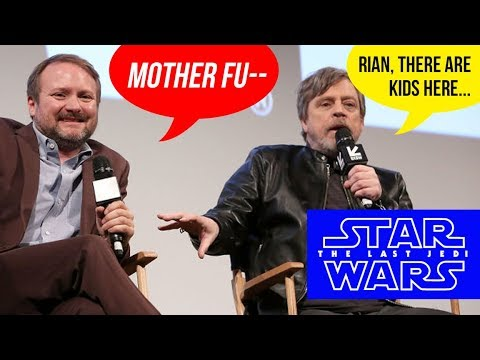 RIAN JOHNSON CALLS MARK HAMILL A MOTHER F*%K=R ???
