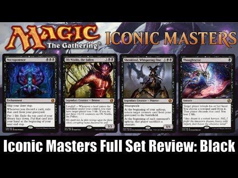MTG Iconic Masters Full Set Review: Black!